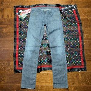 EMPORIO ARMANI Designer Jeans Italy Denim Painters